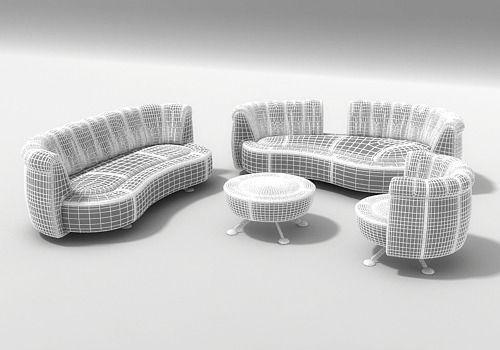 ... 3d Sofa Ds 164 By Hugo De Ruiter 3d Model Max Obj 3ds Dxf Mtl Nice Ideas