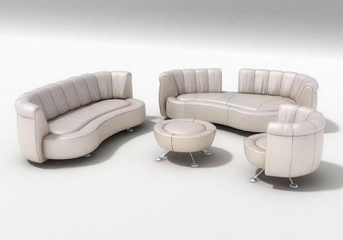 High Quality ... 3d Sofa Ds 164 By Hugo De Ruiter 3d Model Max Obj 3ds Dxf Mtl ... Good Looking