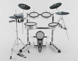 3D asset Drum kit