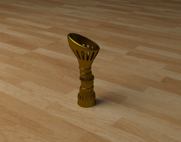 STEAMPUNK VASE 3D Model