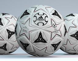 official world cup ball 3d model obj 3ds fbx blend dae mtl
