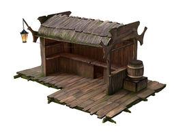 Stall 3D model
