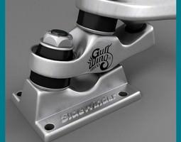 Gullwing Sidewinder 3D Model