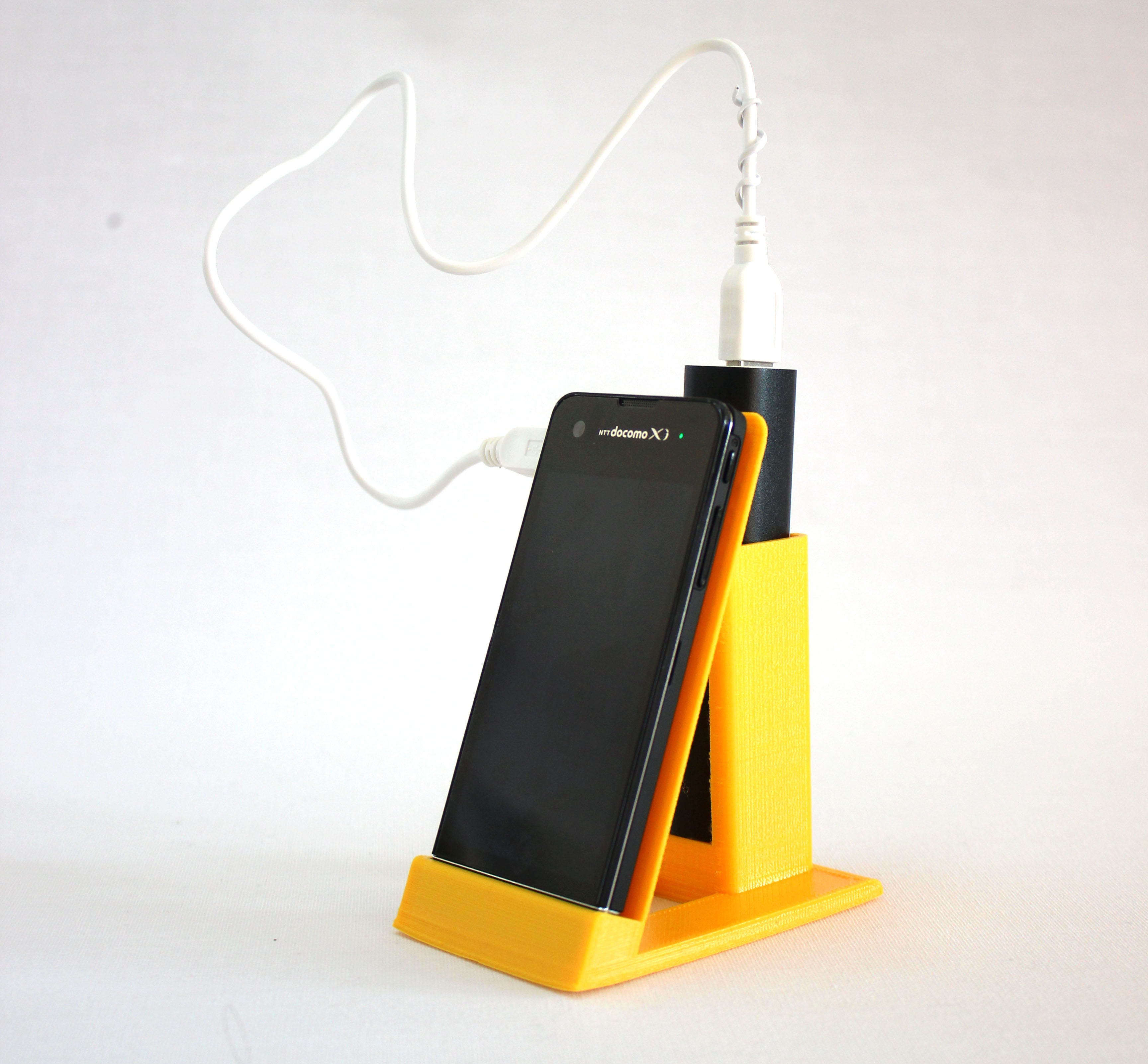 Sony Xperia Sx Phone And Powerbank Holder Free 3d Model 3d