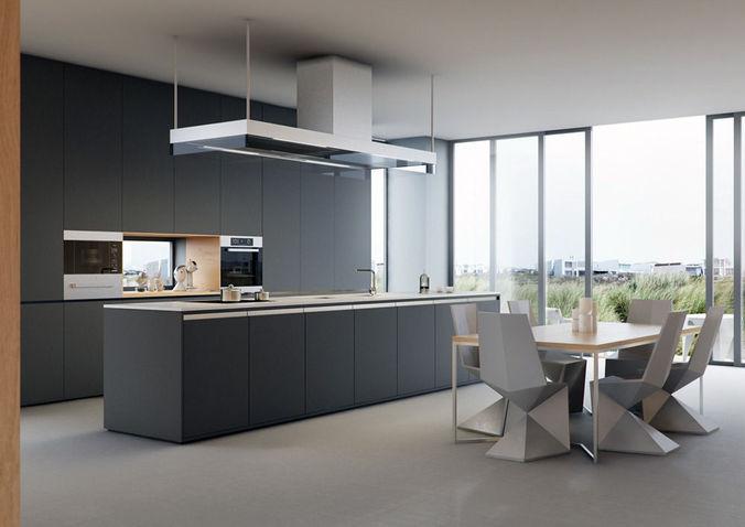 VRayforC4D Scene files - Modern Kitchen Scene3D model