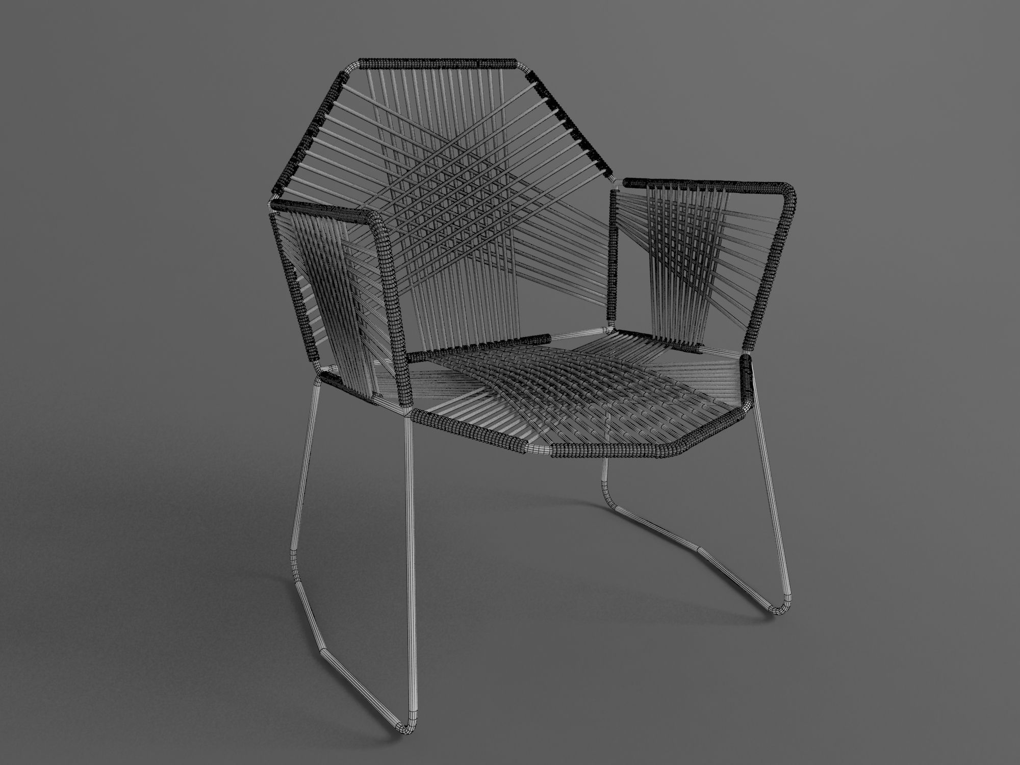 Tropicalia chair 3d model max for New model chair design