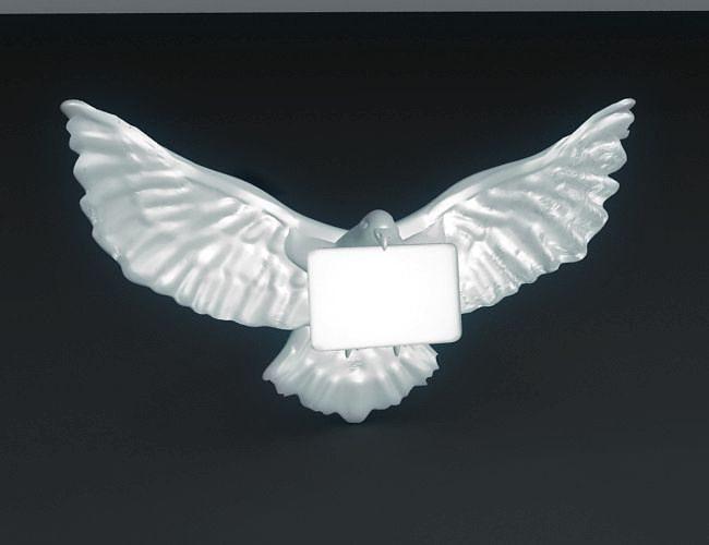 carrier pigeon 3d model stl 1