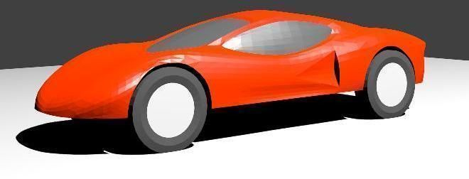 Pinewood derby car shell free 3d model 3d printable stl cgtrader com