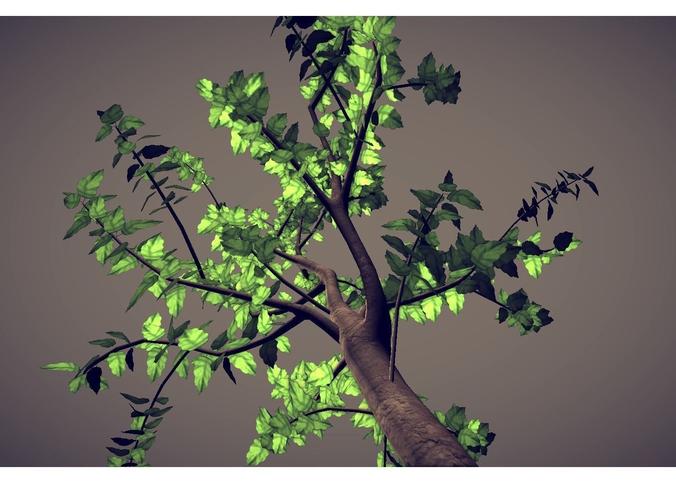 small tree3D model