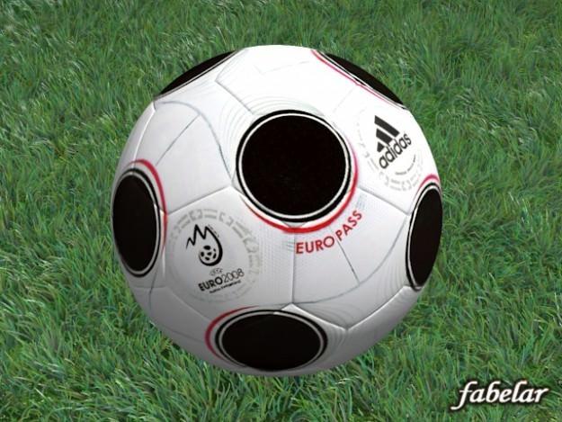 Soccer ball 023D model