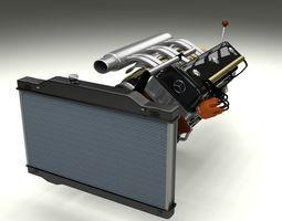 Engine Assembly 3D Model