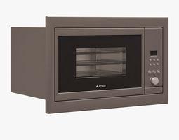 realtime built-in toaster oven 001 arcelik 3d model