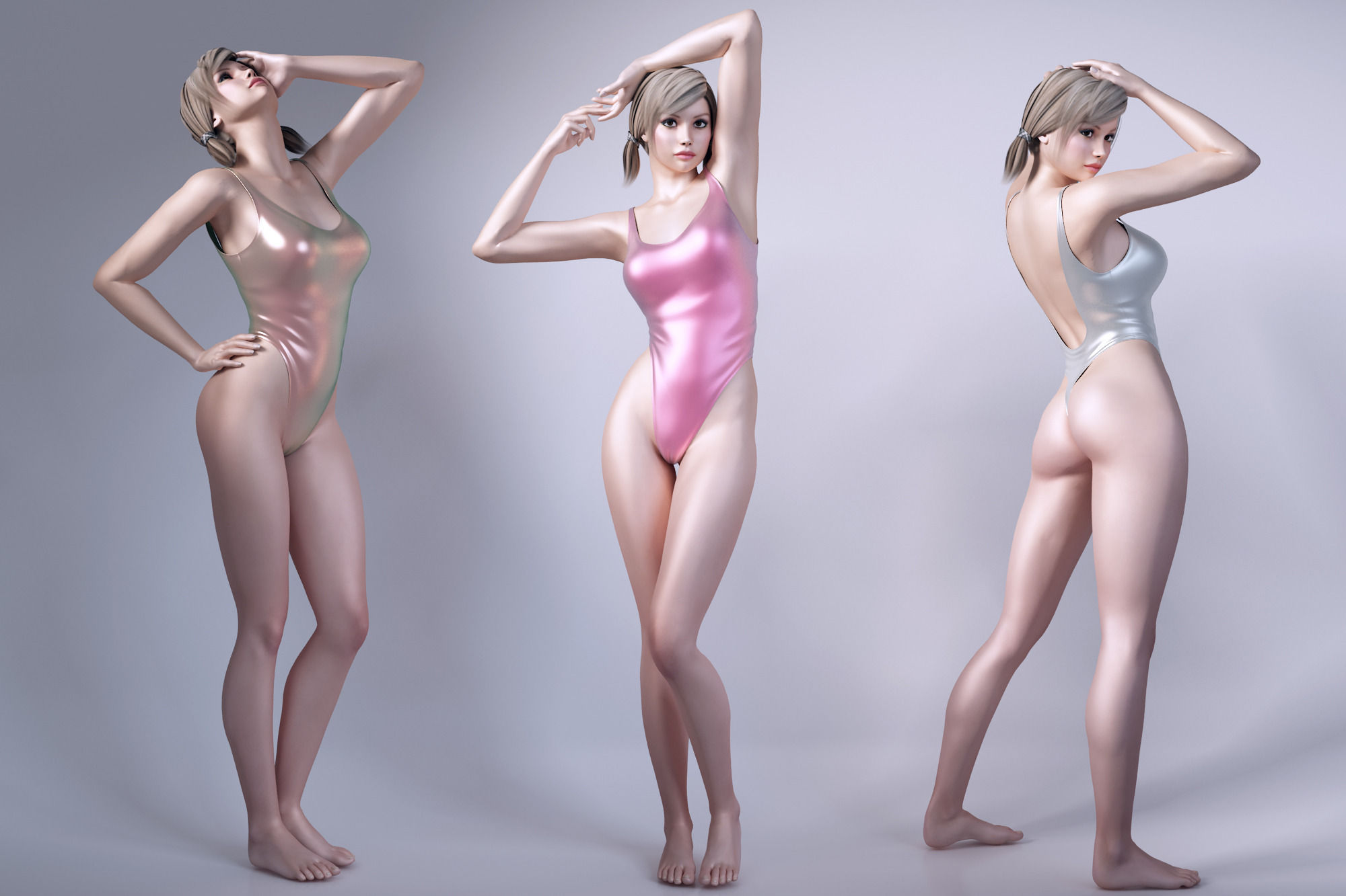 Daz 3d female models nude adult tight beauties