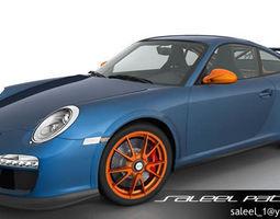 Porsche 911 GT3 RS 2012 3D Model