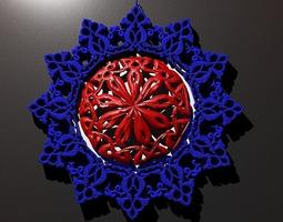 3d print model unity pendant