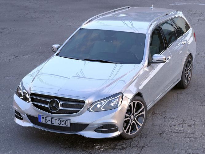 Mercedes Benz E class T model 20143D model