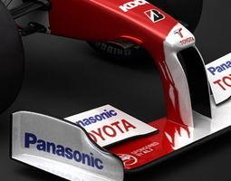 2009 F1 Panasonic Toyota TF109 3D Model