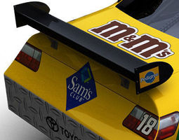 Nascar COT Stock Car - Kyle Busch Camry 3D Model