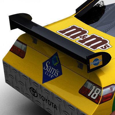 Nascar COT Stock Car - Kyle Busch Camry3D model