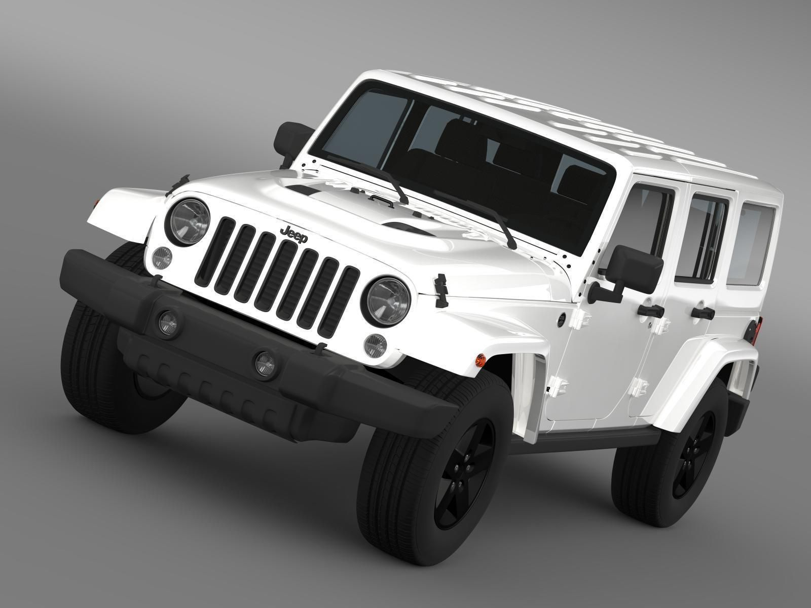 jeep wrangler unlimited 2015. jeep wrangler unlimited x 2015 3d model max obj 3ds fbx c4d lwo lw lws 1 i