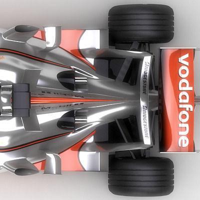 2007 Vodafone McLaren Mercedes MP4-223D model