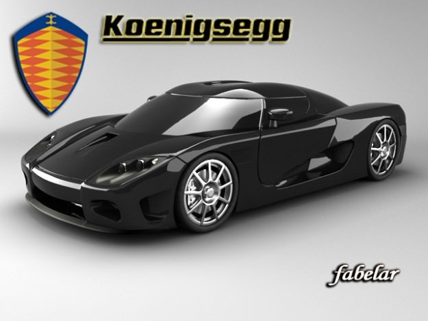 Koenigsegg CCX3D model