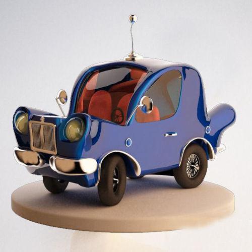 Car Cartoon3D model