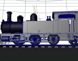 3d animated steam locomotive with plug-in sample that was created in mfc vc