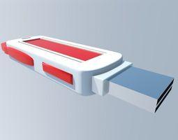 usb memory stick 3D model
