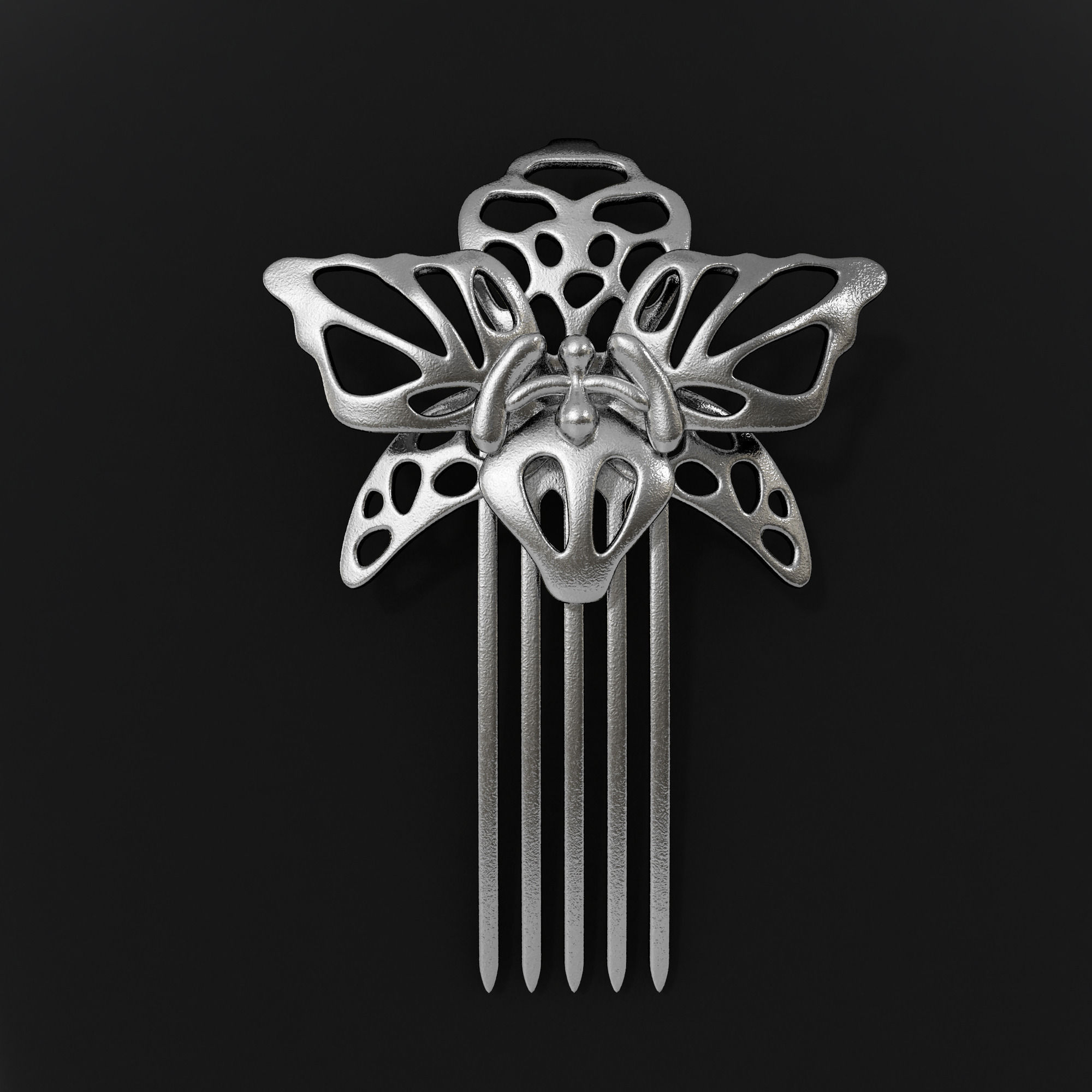 Orchid Hairpin