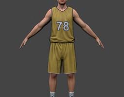 3D model Basketball Player V2