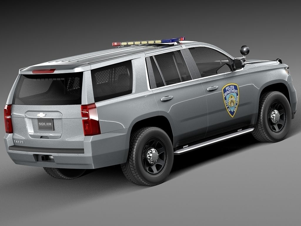 chevrolet tahoe ppv 2015 nypd 3d model max obj 3ds fbx c4d lwo lw lws. Black Bedroom Furniture Sets. Home Design Ideas