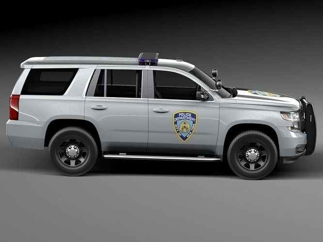 chevrolet tahoe ppv 2015 nypd 3d model max obj 3ds fbx c4d. Black Bedroom Furniture Sets. Home Design Ideas