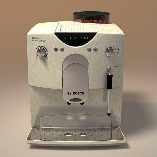 coffeemaker bosch 3d model obj mtl 3ds 3dm dwg atl atla atlo 1