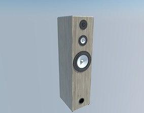 speaker 3 3D model