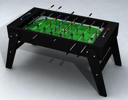 Table Soccer 3D model