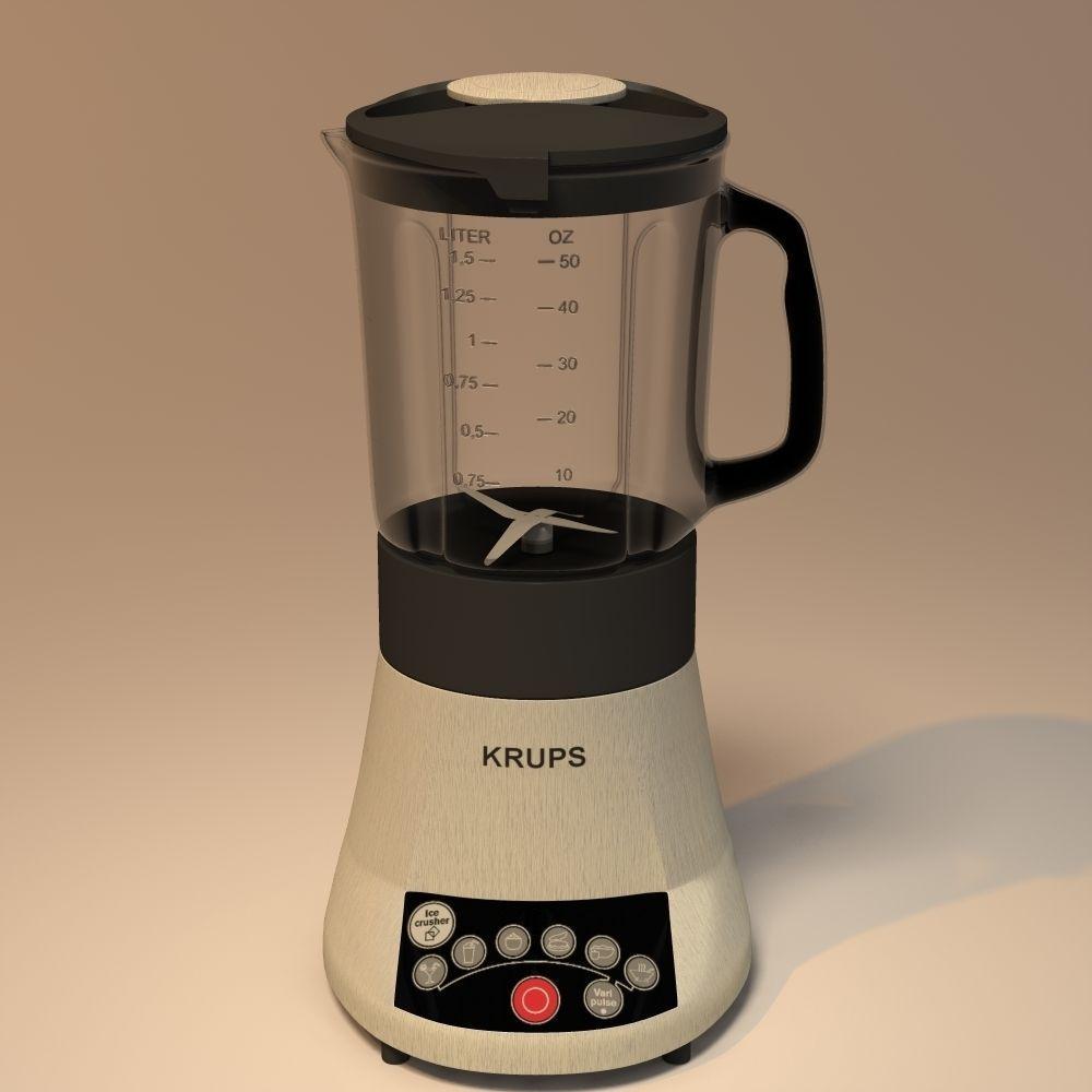 Blender Krups Fresmix KB710D 3D Model .obj .3ds .3dm .dwg