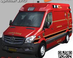 RioRicoFire Mercedes Sprinter 3500 3D asset