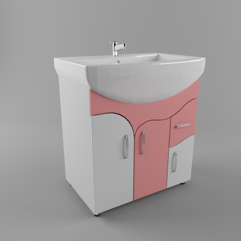 Bathroom sink 3d model max obj 3ds fbx for New model bathroom