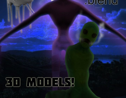 Minecraft Real life ENDERMAN 3D Model