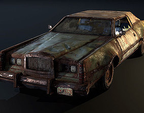 3D asset Post Apocalyptic Car