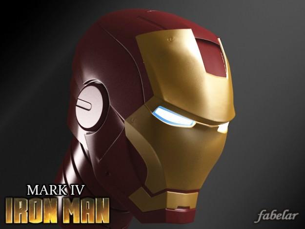 Ironman head3D model