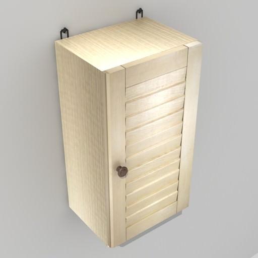 Bathroom Cabinet 3d Model Max Mat