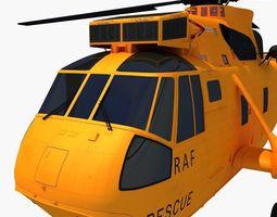 Westland Sea King Helicopter 3D Model