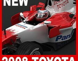 2008 F1 Pack 3D Model