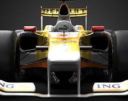 2009 F1 Pack 3D Model