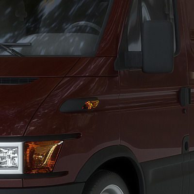UPS Delivery Van3D model