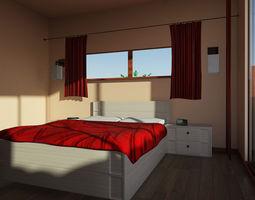 Mr Bedroom 03 3D Model
