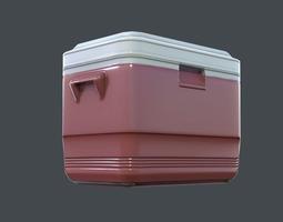 Portable Cooler 3D asset