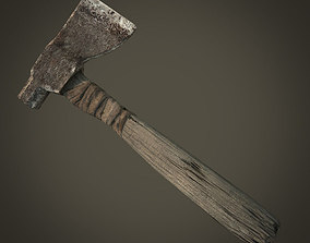 3D model Old Hatchet